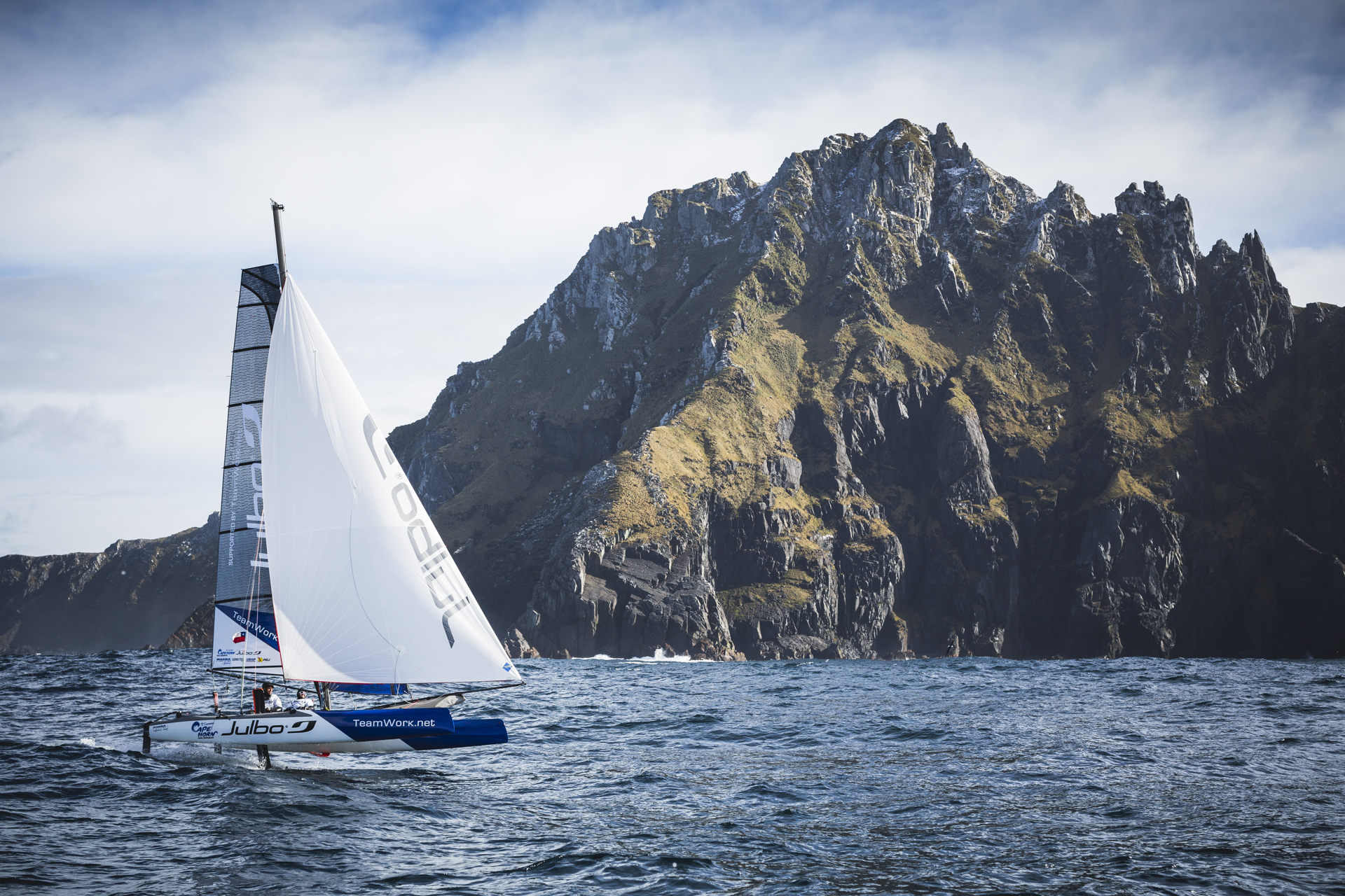 Resultado de imagen de catamarán franck cammas