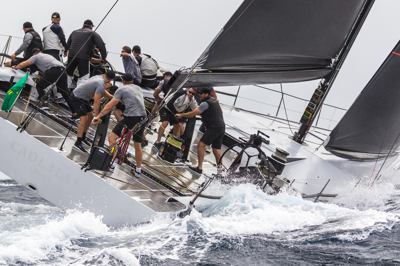Rolex Giraglia 2019  Segundo día de regatas costeras